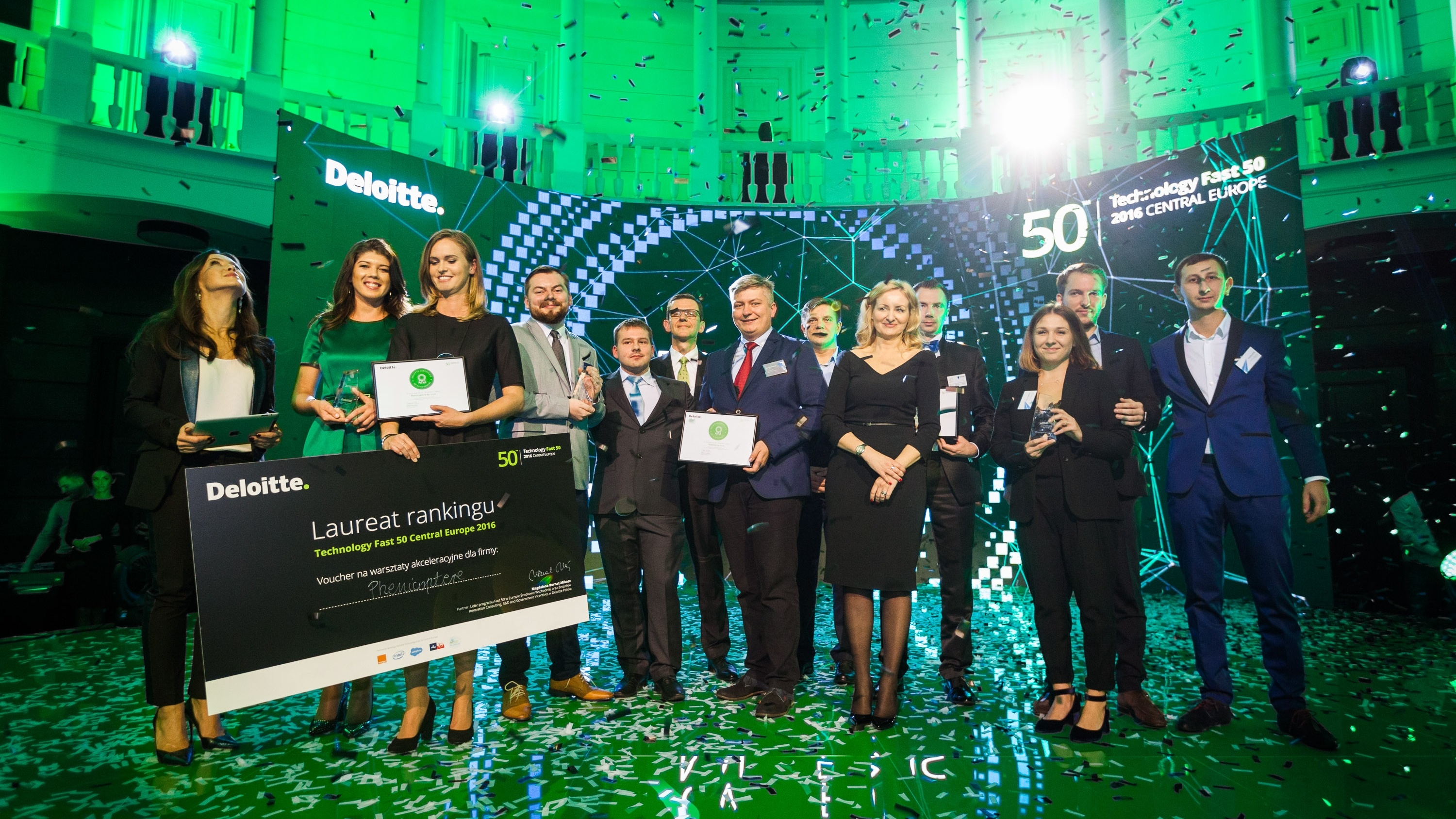 Deloitte's Technology Fast 50™awards program